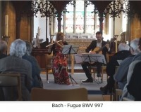 Bach Suite BWV 997 - Fugue